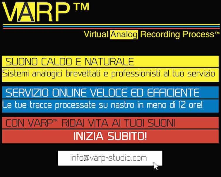 Promozione Processo VARP™ Studio di Registrazione Online